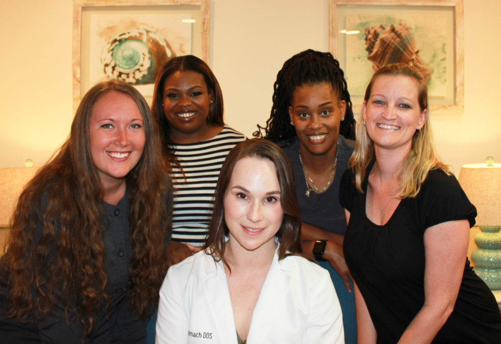 Staff of Tidewater Dental Arts in Newport News, Virginia.